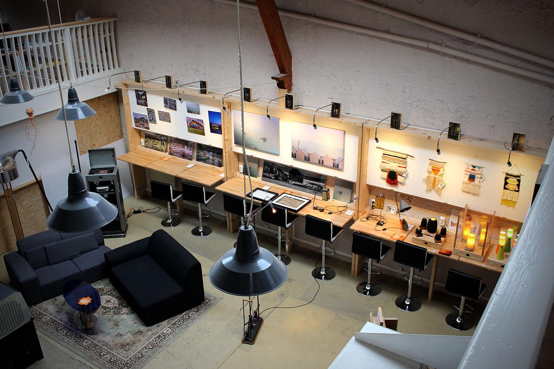 Coworking latelier de moule à gaufres orléans un espace tenu
